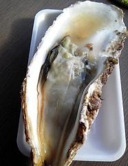 杉原功商店 生牡蠣を食べる寸前