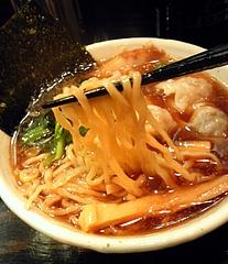 ラーメン 百舌鳥@上星川 雲呑麺 麺