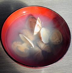 杉原功商店 サービスのアサリ汁