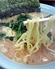 寿々喜家@上星川 ラーメン中 麺