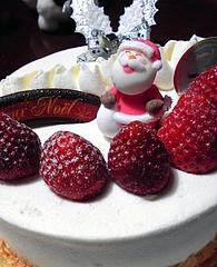 霧笛楼 クリスマスケーキアップ