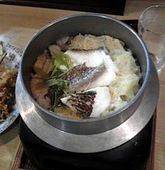 もりもとや 釜飯(850円)