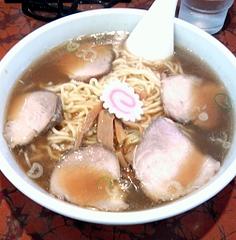 赤坂味一@船橋 チャーシュー麺(650円)