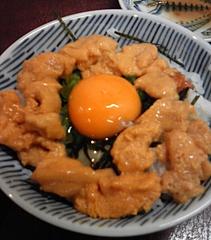 さかな処三吉 うに丼(600円)