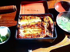 茂利戸家 うなぎ 竹(2100円)