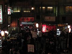 新横浜ラーメン博物館 中央の広場