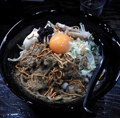 中華蕎麦 蕾 まぜそば+マヨ+ベビースター(800円)