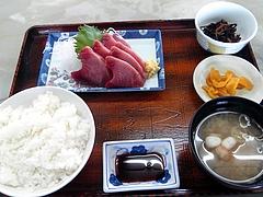 斎太郎食堂@石巻 かつお刺身定食(870円)