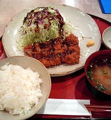 かつふみ ヒレカツ定食(1050円)
