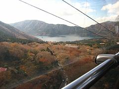 箱根ロープウェイ車窓から