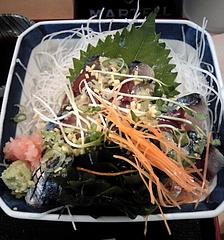 魚苑にんじん 鯖刺身