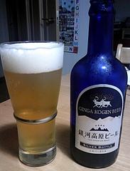 銀河高原ビール シルバーボトル 中身