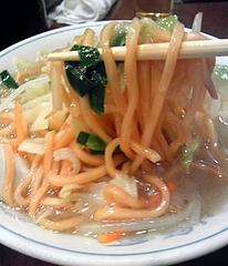 麗郷 渋谷店 タンメン 麺