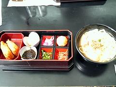 展望レストラン(琉球城蝶々園) ソーキそばセット