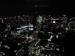 カレッタ汐留 47Fからの夜景