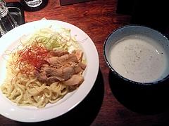 羽前 鶏塩ポタージュつけ麺(800円)