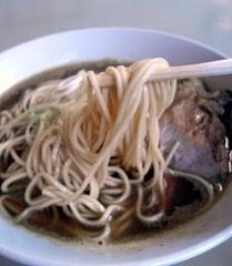 中華そば屋 伊藤 肉そば 麺