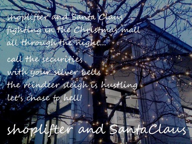 shoplifter歌詞カード