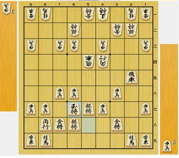 第52期名人戦第四局 米長名人vs羽生棋聖