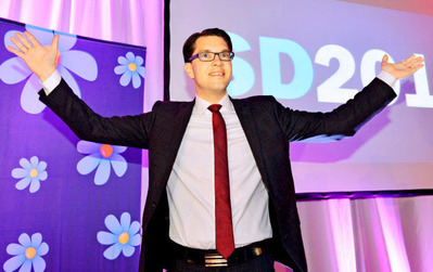 スウェーデン民主党党首