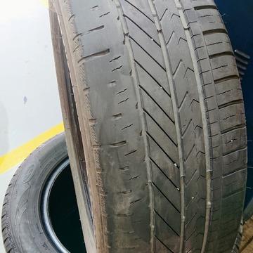 片減りタイヤ