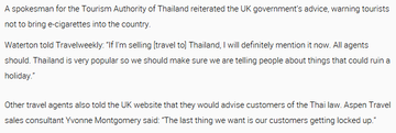 Travel agents warn of Thai e-cig import ban2