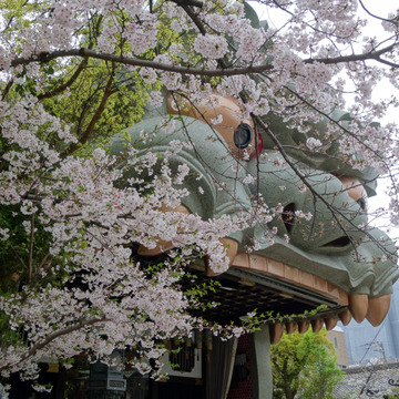 難波八阪神社_4