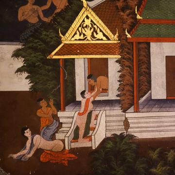 ワットパナムチューン壁画1-00466