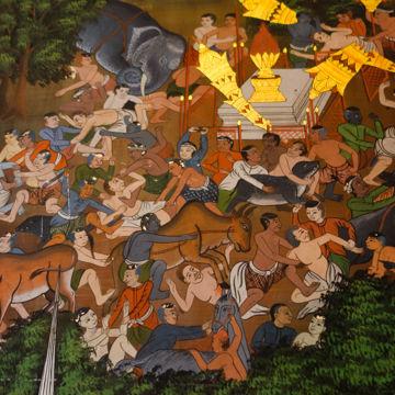 ワットパナムチューン壁画4-00469