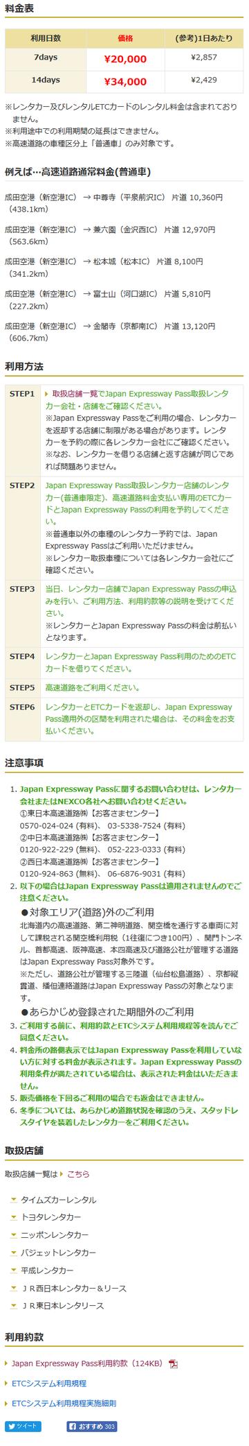 Japan Expressway Pass  ドラ割  2