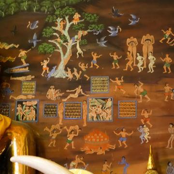 ワットパナムチューン壁画6-00474