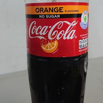 オレンジ味のコーラ