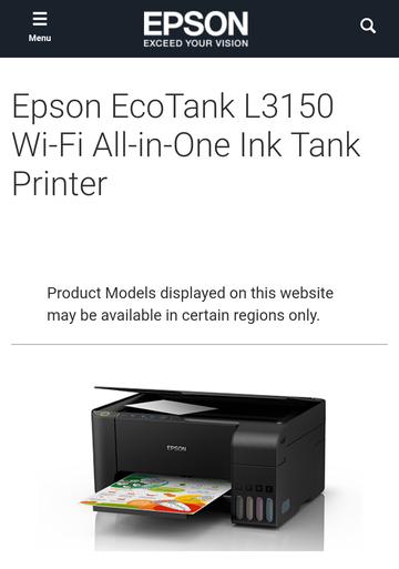 EPSON L3150  3