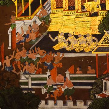 ワットパナムチューン壁画3-00468