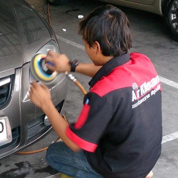 polishing