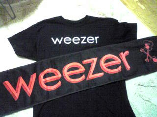 weezerグッズ