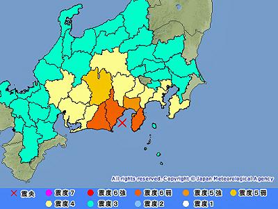 地震と台風�
