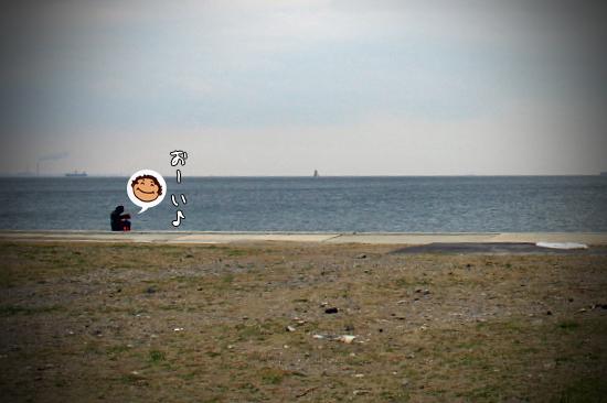 サザビー、砂浜に立つ!! 04