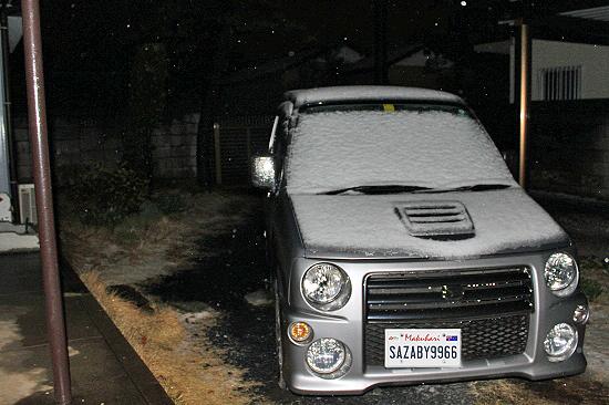 雪・・・�