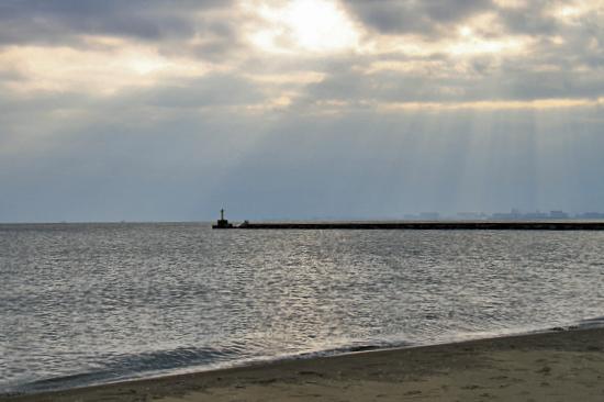 サザビー、砂浜に立つ!! 06