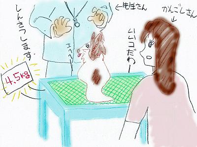 病院にて(・∀・)ノ�