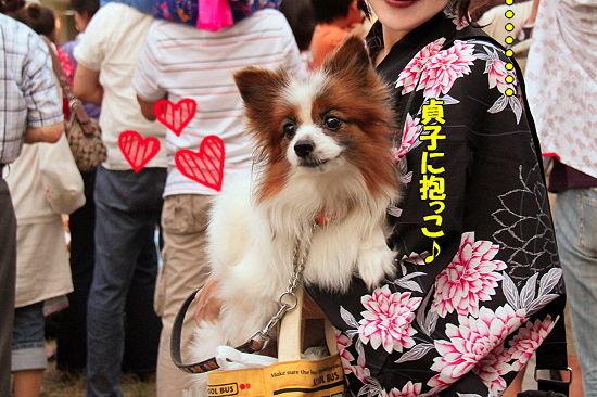 貞子とお祭り♪�