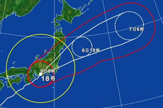 台風直撃・・・ 02
