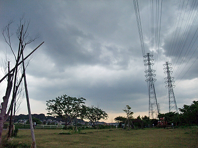 台風接近!�