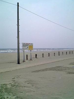 強風の海・・・・