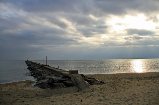 サザビー、砂浜に立つ!! 12