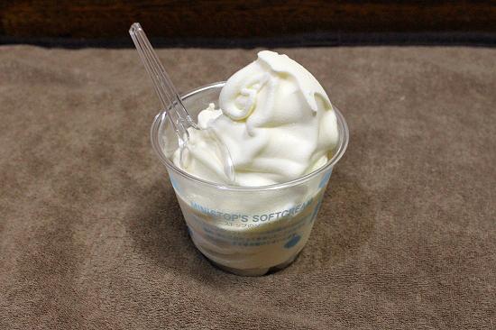 肩が痛けりゃアイスクリーム♪�