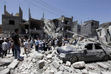 空爆 シリア