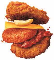 ケンタッキーがチキンライス作ったら…ライスとお肉が「逆転」!「常識を覆す」新発想のサンドメニューに