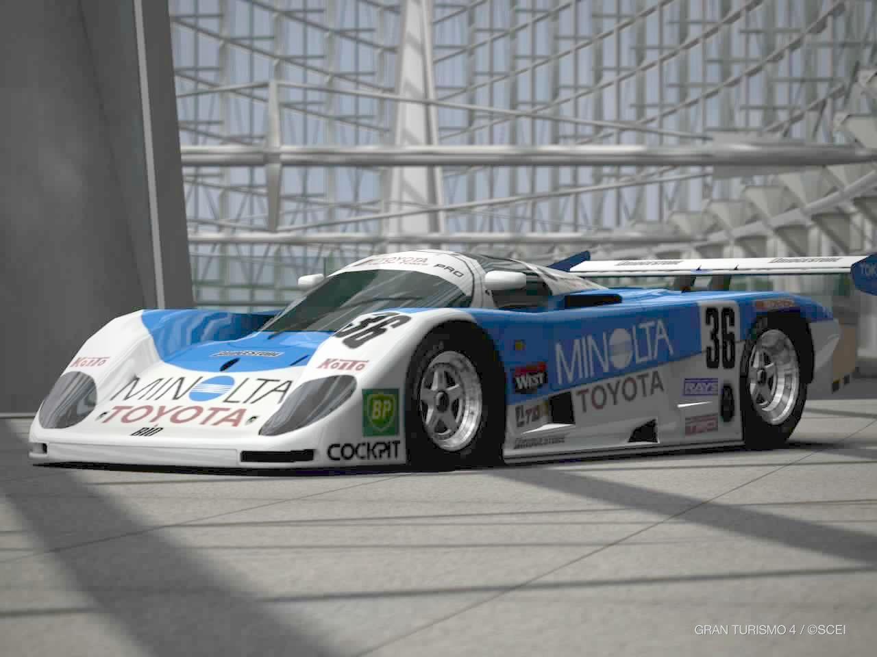 ミノルタ トヨタ 88C-Vレースカー '89 : シアトリカル日記
